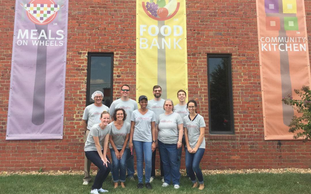 The Roseline Team Volunteers at FeedMore